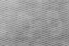 Gray background of corrugated fluffy fabric Stock Photos