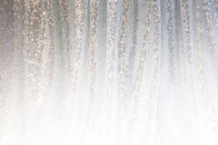 Gray background of draped fabric Royalty Free Stock Photo