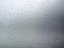 Gray background with drops of water Stock Image