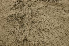 Gray fabric texture of fur on clothes Stock Photography