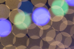 Gray background with green and blue  bokeh Royalty Free Stock Photo