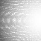 Gray Background leggero circolare astratto Fotografia Stock