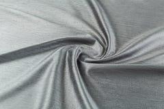Gray background luxury cloth or wavy folds of grunge silk texture satin velvet Stock Photos