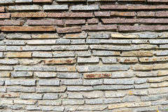 Gray background of the masonry Stock Photography