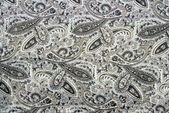 Gray background with ornament texture of clothes. Royalty Free Stock Photo