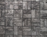 Gray background and railroad ties texture Royalty Free Stock Photography