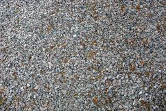 Gray background of small stones of building crushed stone Royalty Free Stock Photos