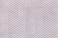 Gray background from soft fleecy fabric closeup. Texture of textile macro Stock Photography
