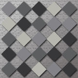 Gray background of squares. Business gray background of squares Stock Photos