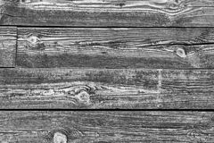 Gray background texture of wooden planks logs bark Stock Images