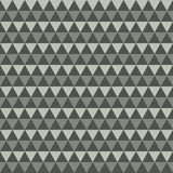 Gray background of triangles. Vector abstract illustration Stock Image