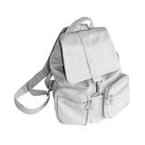 Gray backpack Stock Image