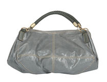 gray bag Stock Images
