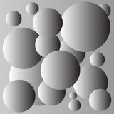 Gray balls background design Royalty Free Stock Images