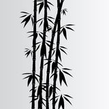 Gray bamboo background Stock Photos