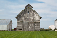 Gray barn Royalty Free Stock Photo