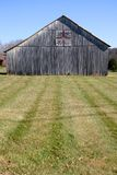 Gray Barn (vertical) Royalty Free Stock Images