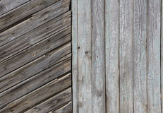 Gray Barn Wooden Wall Planking Rectangular Texture. Old Wood Rustic Grey Shabby Slats Background. Hardwood Dark. Weathered Square Surface Royalty Free Stock Photos