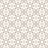 Gray and beige floral pattern Royalty Free Stock Photo