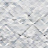 Gray bianco del fondo astratto del triangolo Immagini Stock Libere da Diritti