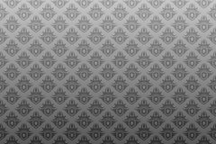 Gray black antique seamless wallpaper Stock Image