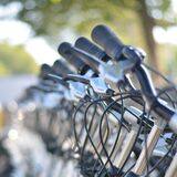 Gray and Black Bicycles during Daytime Stock Photography