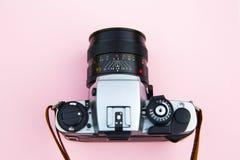 Gray and Black Dslr Camera Stock Photography