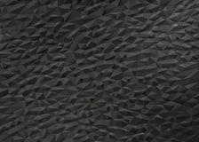 Gray black low poly background Stock Photo