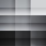 Gray and black squares abstract background. RGB EPS 10 vector illustration Royalty Free Stock Photo