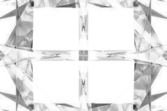 Gray or black and white b&w CGI, random geometric, backdrop for design texture, background. 3D render. Background abstract, random geometric backdrop CGI, for vector illustration