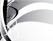 Gray black white background Stock Photography
