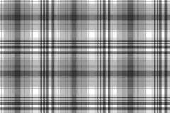 Gray black white pixel check plaid seamless pattern. Vector illustration royalty free illustration