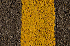 Gray, black and yellow asphalt background Stock Photo