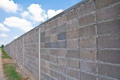 Gray block wall Royalty Free Stock Photo