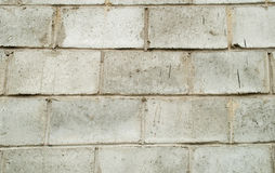 Gray  block wall Stock Image