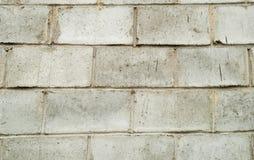 Gray  block wall Stock Image