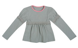 Gray blouse Stock Images