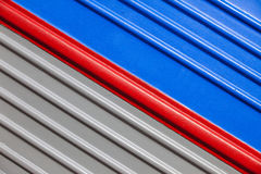 Gray-blue background with a diagonal red stripe Royalty Free Stock Photos