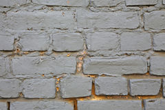 Gray blue brick wall Royalty Free Stock Photos