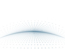 Gray-Blue Grid Template Stock Image