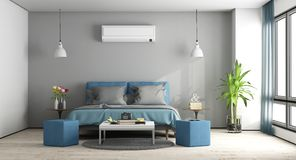 modern blue master bedroom. Gray And Blue Master Bedroom. Modern Bedroom With Furniture Air O
