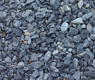 Gray blue rubble stones texture Stock Image