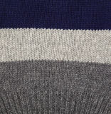 Gray and blue wool. Stock Images