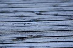 Gray Boards Background. Fades To Soft Focus Stock Photography