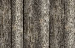 Gray boards vertical weathered background natural base web design Royalty Free Stock Photos
