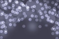 Gray bokeh abstract light background Stock Photography