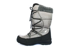 Gray boot Stock Photos