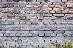 Gray brick of old wall Royalty Free Stock Photography