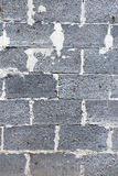 Gray brick vertical background Stock Photography