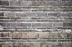 Gray brick wall Stock Photo